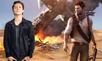 Uncharted:  Tom Holland physiquement transformé pour affronter Mark Wahlberg