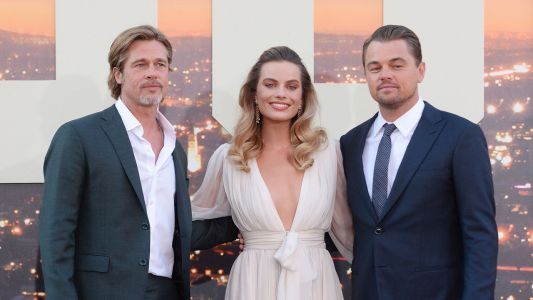 Once Upon a Time in Hollywood:  Brad Pitt, Leonardo DiCaprio et Margot Robbie à l'avant-première du nouveau Tarantino