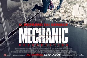"Box-office du 31 août au 6 septembre:  ""Mechanic Resurrection"" s'adjuge d'emblée la première place"