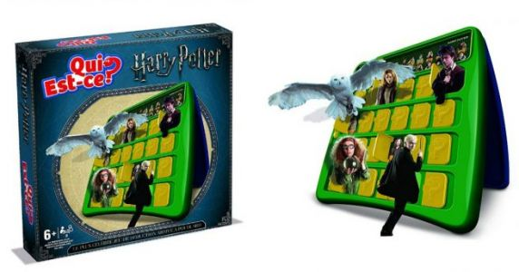 Un jeu de Qui Est-ce version Harry Potter