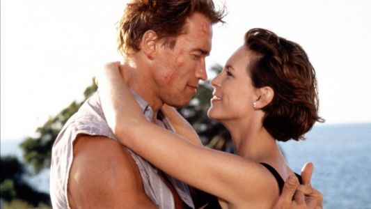 25 ans de True Lies:  Jamie Lee Curtis et Arnold Schwarzenegger se retrouvent en photo