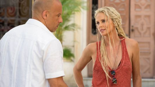 Fast and Furious 9:  Charlize Theron en mode Godefroy de Montmirail sur la première photo