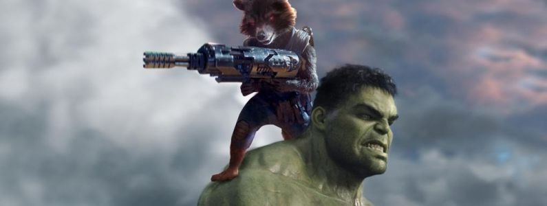 Avengers Endgame:  Mark Ruffalo a teasé la relation entre Hulk et Rocket et on l'avait raté