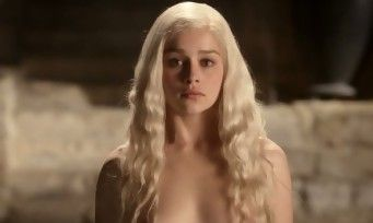 Game Of Thrones:  Emilia Clarke son coup gueule contre la nudité