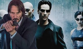 John Wick 4:  Keanu Reeves face à d'autres acteurs cultes de MATRIX ? Hello Mr Anderson