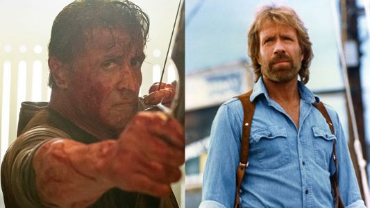Rambo:  Chuck Norris a failli jouer le personnage !