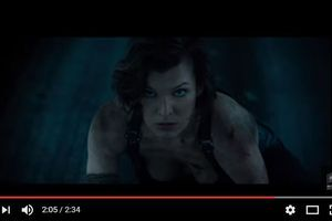 """""""Resident Evil The Final Chapter"""":  une bande-annonce explosive"""