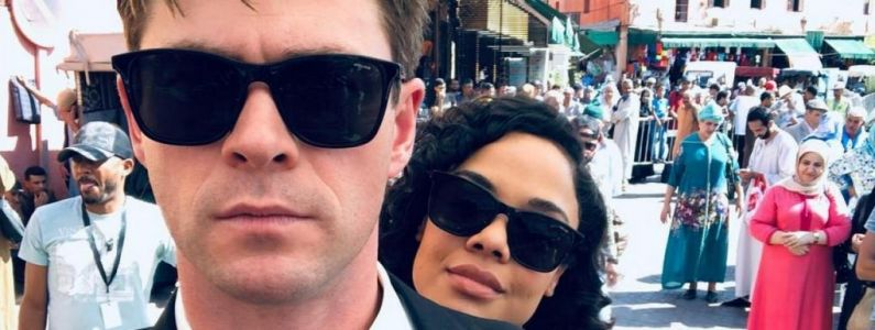 Men in Black, le spin-off:  Chris Hemsworth dévoile la première photo officielle du film