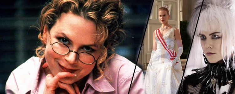 Punk, princesse ou sexy en diable. 15 looks de Nicole Kidman à travers sa carrière !