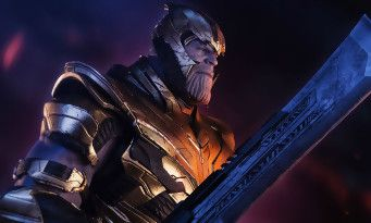Avengers 4:  Thanos sort sa grosse épée de motherfucker face à Captain America
