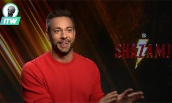 Shazam!:  Zachary Levi remercie Marvel de l'avoir tué ! interview