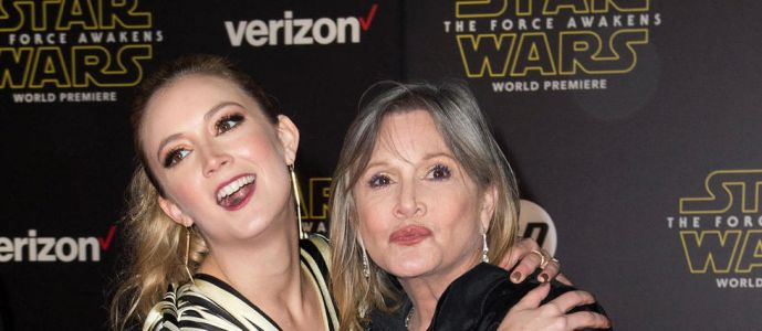 « Star Wars 9 » : Carrie Fisher et sa fille réunies à l'écran