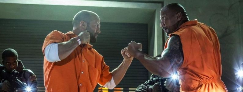 Fast and Furious, Hobbs & Shaw:  Dwayne Johnson, Idris Elba et Jason Statham réunis sur une nouvelle photo