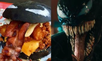 Venom toujours au top du box office a droit à son Burger Venom !