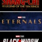 Disney retarde la sortie de Black Widow, Eternals et Shang-Chi