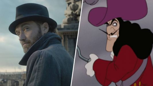 Disney:  Jude Law en Capitaine Crochet dans la version live de Peter Pan ?
