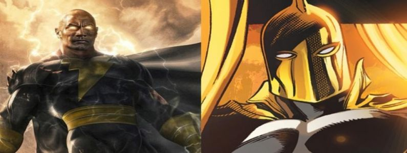 DCEU:  Black Adam devrait introduire Doctor Fate