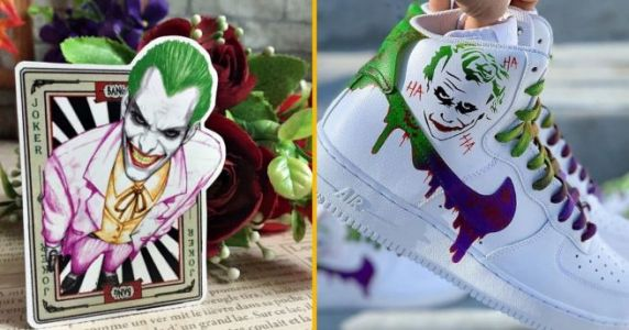 Top 40+ des objets Joker, le clown méchant qui a le plus de classe