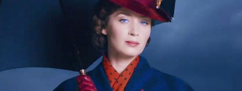 Mary Poppins Returns:  Emily Blunt en plein numéro de danse sur une nouvelle photo