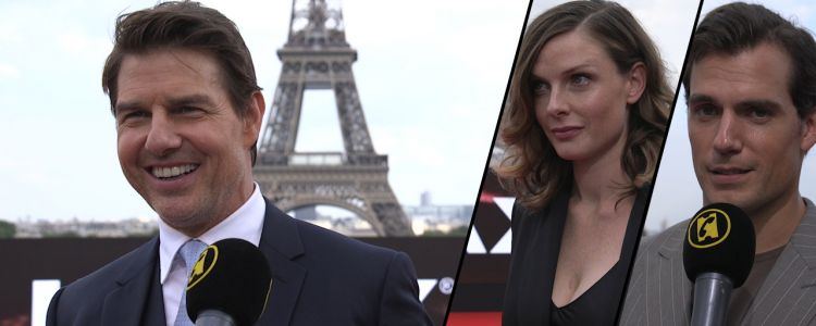 Mission Impossible - Fallout:  on a lancé un défi à Tom Cruise, Henry Cavill, Rebecca Ferguson, Simon Pegg
