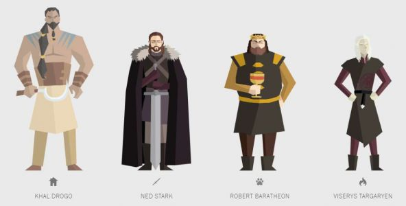 Game of Thrones:  un guide illustré de toutes les morts de la série