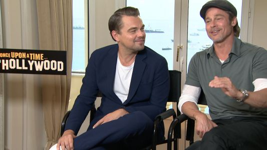 Quand Brad Pitt déclare sa flamme à Leonardo DiCaprio:  notre interview Once Upon a Time In Hollywood !